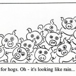 h is for hogs